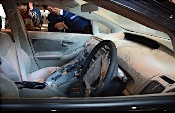 プリウス盗難車2